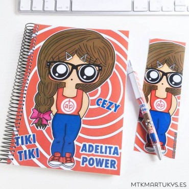 Cuaderno MTK Adelita Power