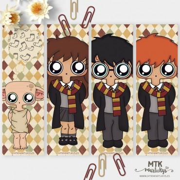 Marcapáginas MTK HARRY POTTER