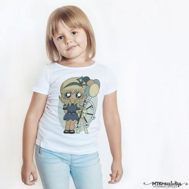 Camiseta niña MTK Bow