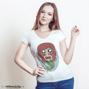 Camiseta mujer MTK Sirenita