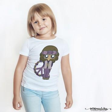 Camiseta niña MTK Hippie
