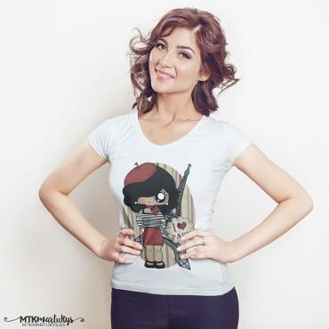 Camiseta mujer MTK Parisina