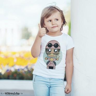 Camiseta niña MTK Motera