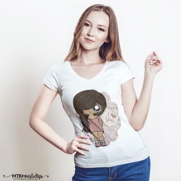 Camiseta mujer MTK Tresse