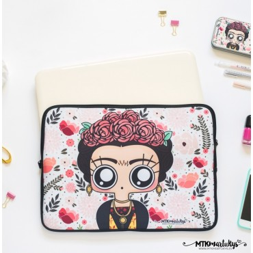 "Funda portatil 14""/15"" -  Frida Kahlo"
