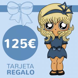 Tarjeta REGALO 125€