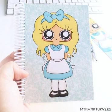 Cuaderno MTK ALICIA