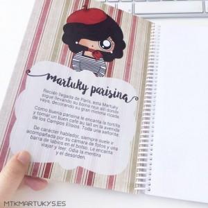 Cuaderno Martuky Parisina