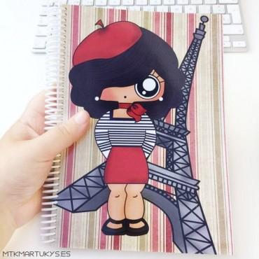 Cuaderno MTK PARISINA