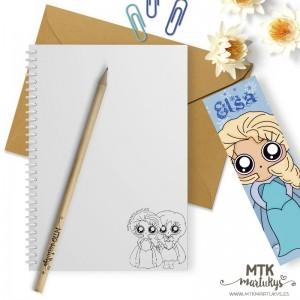 Cuaderno Frozen