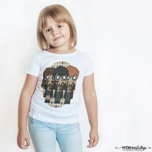 Camiseta niña MTK Harry Potter