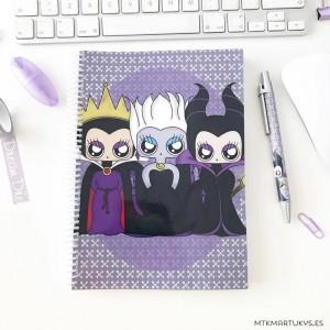 Cuaderno MTK Villanas