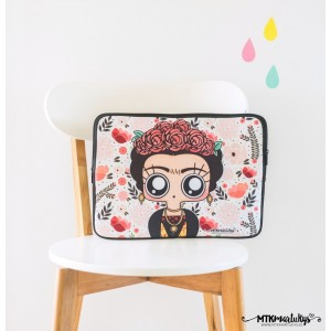 "Funda portatil 14""/15"" -  Frida Kahlo"