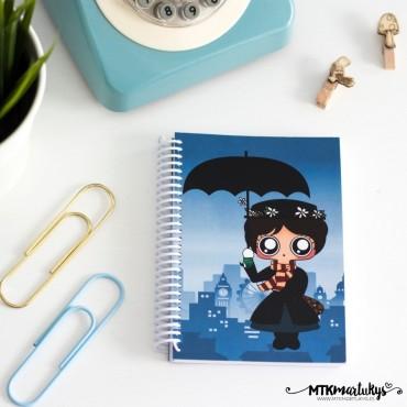 Cuaderno MTK Mary Poppins