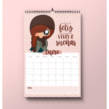 Calendario 2019 pared