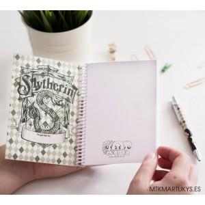 Cuaderno MTK Slytherin