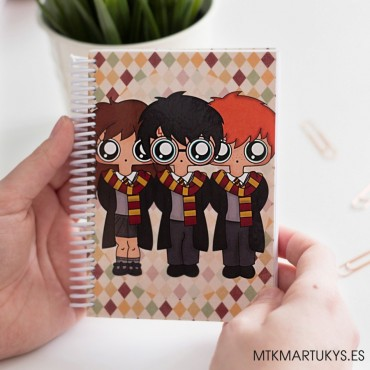 Cuaderno MTK Harry Potter