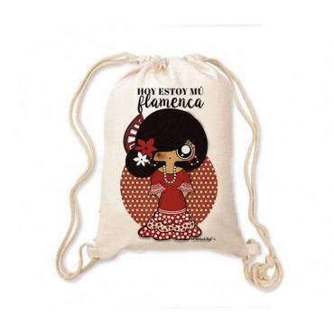 Mochila saco MTK Flamenca