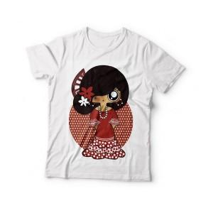 Camiseta niña MTK Flamenca