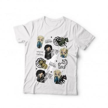 Camiseta mujer MTK Juego de Tronos