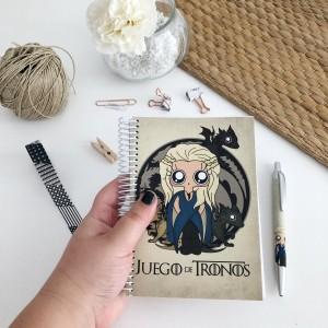 Cuaderno MTK Juego de Tronos