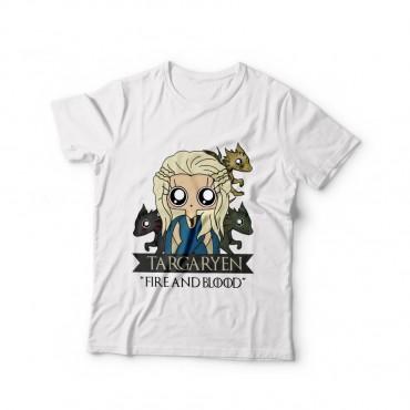 Camiseta mujer MTK Daenerys Targaryen