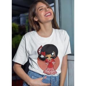 Camiseta mujer MTK Flamenca