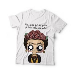 Camiseta mujer MTK Frida Kahlo