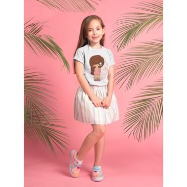 Camiseta niña MTK Tresse