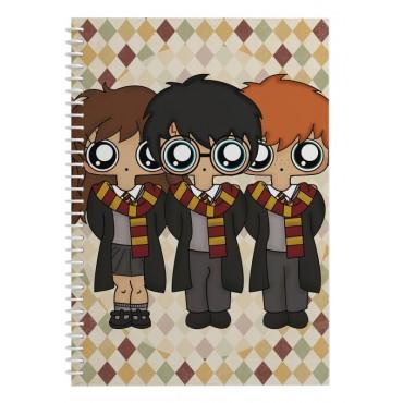 Cuaderno MTK Harry Potter