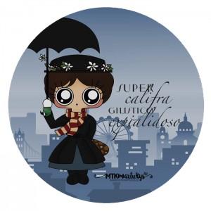 Alfombrila ratón MTK Mary Poppins