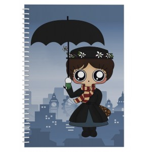 Cuaderno MTK Mary Poppins