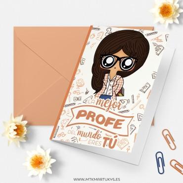 Tarjeta para profes