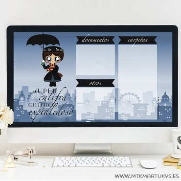 Fondo de pantalla Mary Poppins