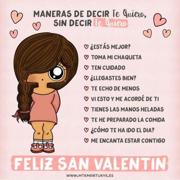 Tarjeta San Valentin