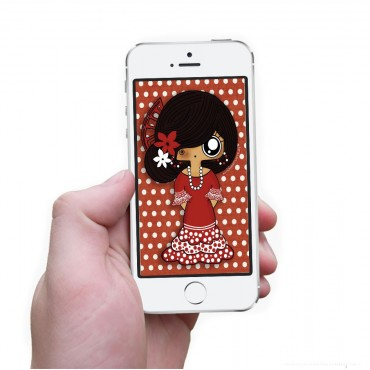 Fondo de móvil MTK Flamenca