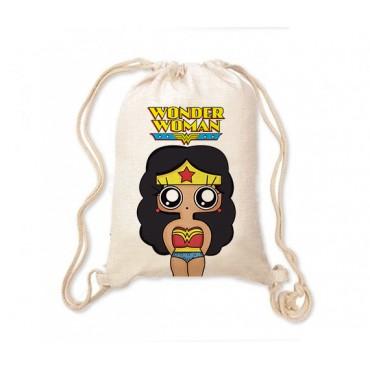 Mochila saco MTK Wonder Woman