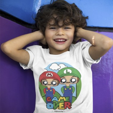 Camiseta niño MTK Mario