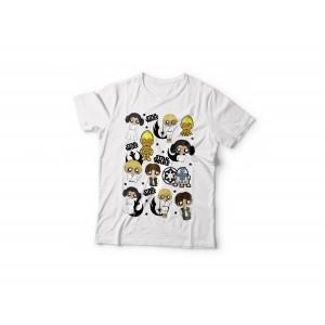 Camiseta MTK Star Wars