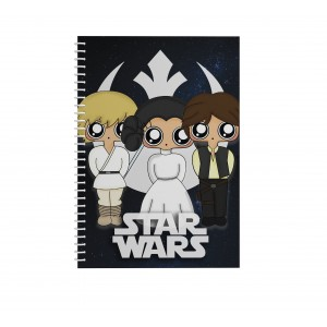 Cuaderno MTK Star Wars