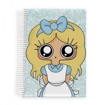 Cuaderno A5 MTK ALICIA