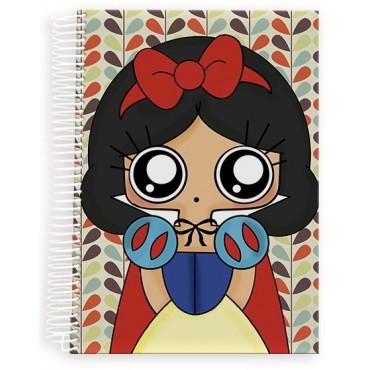 Cuaderno A5 MTK Blancanieves