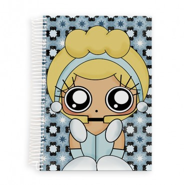 Cuaderno A5 MTK Cenicienta
