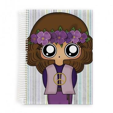 Cuaderno A5 MTK Hippie