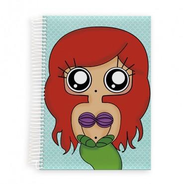 Cuaderno A5 MTK Sirenita