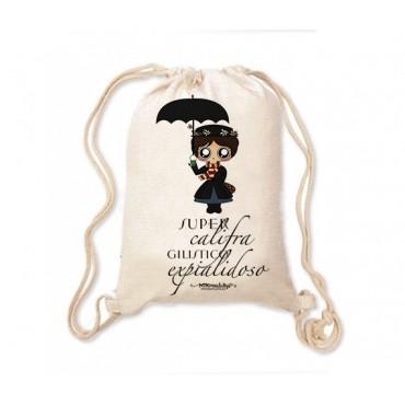 Mochila saco MTK Mary Poppins