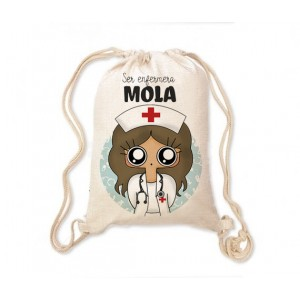 Mochila saco MTK Enfermera