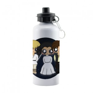 Botella aluminio MTK Star Wars