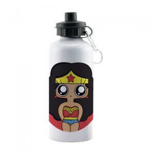 Botella aluminio MTK Wonder Woman