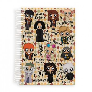 Cuaderno A5 MTK Harry Potter